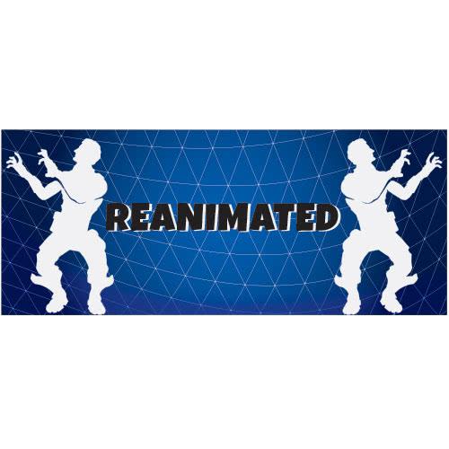 Reanimated Dance Silhouette PVC Party Sign Decoration 60cm x 25cm Product Image