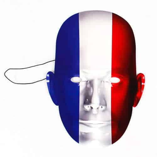 France Flag Face Mask