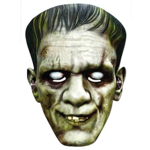 Frankenstein Halloween Cardboard Face Mask Product Image