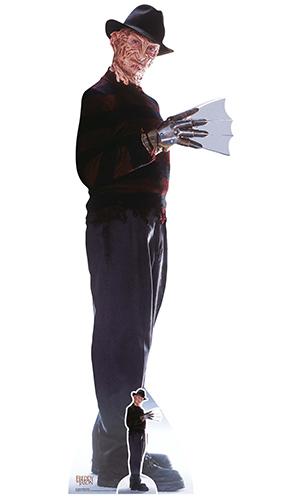 Freddy Krueger & Freddys Glove Lifesize Cardboard Cutout 183cm