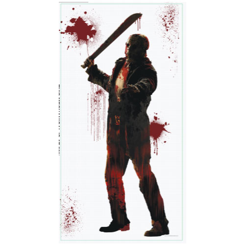 Friday the 13th Scene Setter Add-On Wall Decoration Halloween Backdrop