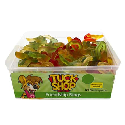 Friendship Ring Jelly Sweets - Pack of 120 Product Image
