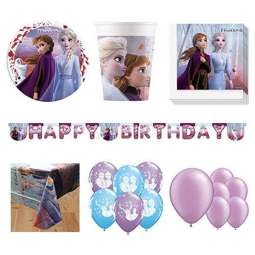Disney Frozen II 16 Person Deluxe Party Pack Product Image
