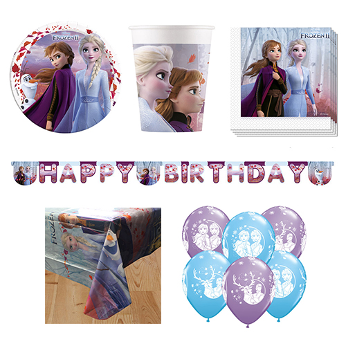 Disney Frozen II 8 Person Deluxe Party Pack Product Image