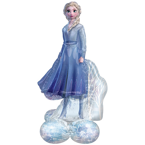Frozen 2 Elsa Airloonz Air Fill Giant Foil Balloon 137cm / 51 in Product Image
