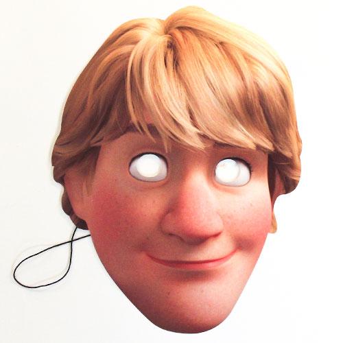Disney Frozen 2 Kristoff Cardboard Face Mask Product Image