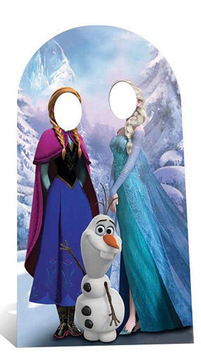 Frozen Stand In Cardboard Cutout - 188cm Product Image