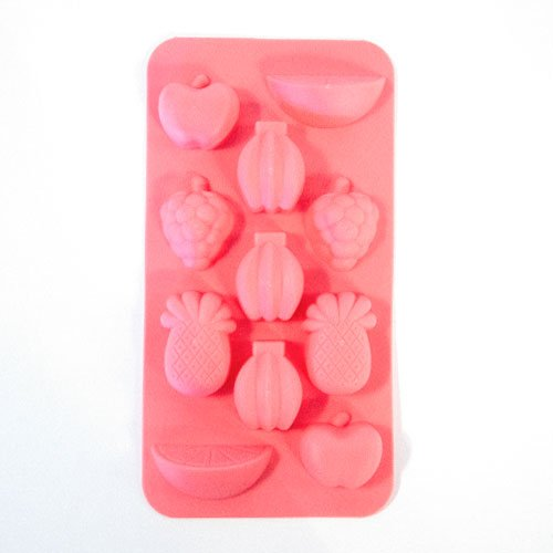 Fruit Shapes Ice Cubes Mould Tray 20cm Product Gallery Image