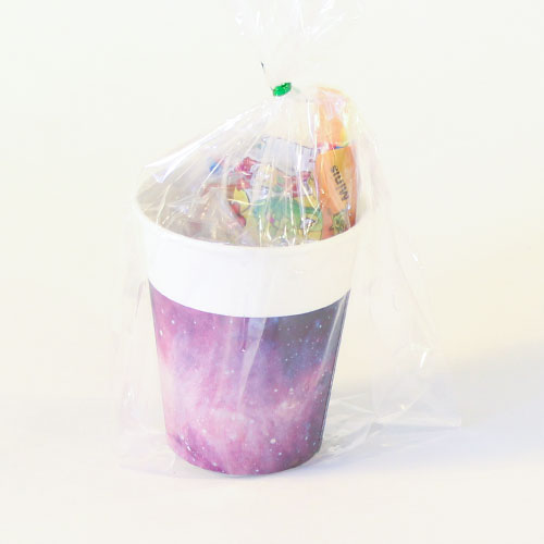 Galaxy Toy And Candy Cup