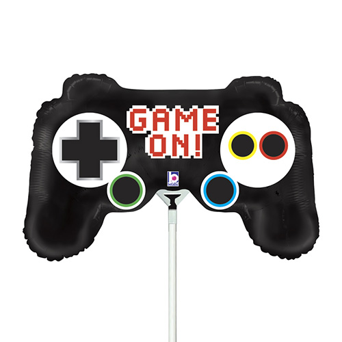 Game Controller Air Fill Foil Balloon 35cm / 14 in Product Image