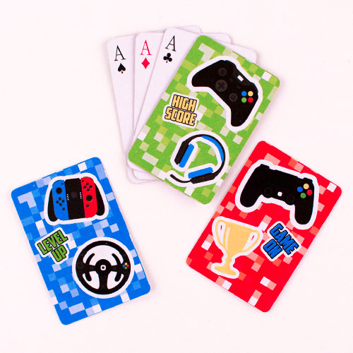 Gamer Mini Playing Cards Product Image