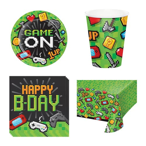 Gaming Party 8 Person Value Party Pack Product Image