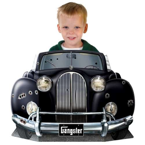 Gangster Car Photo Prop - 64cm Product Image