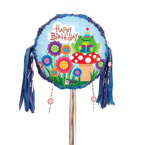Garden Birthday Pull String Pinata Product Image