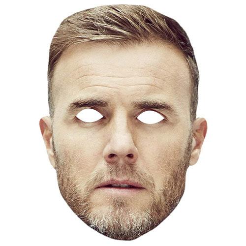 Gary Barlow Cardboard Face Mask Product Image