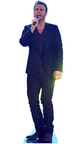 Gary Barlow Singing LifeSize Cardboard Cutout - 180cm Product Image