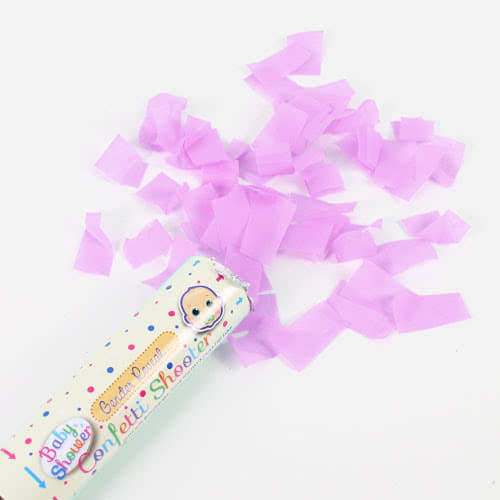 Baby Shower Gender Reveal It's A Girl Paper Confetti Shooter 20cm Product Image