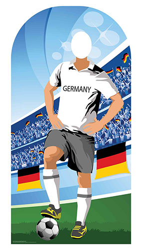 Germany Football Stand-In Cardboard Cutout 190cm Product Image