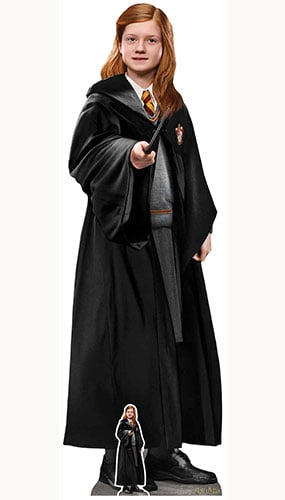 Ginny Weasley Harry Potter Character Lifesize Cardboard Cutout 168cm Product Image