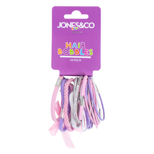 Girls Hair Bobbles - Pack of 18 Product Image