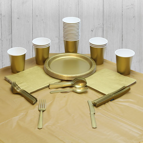 Gold 14 Person Party Pack Product Image