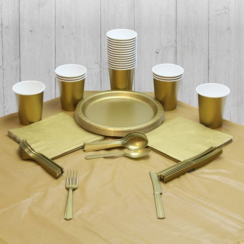 Gold 18 Person Party Pack Product Image