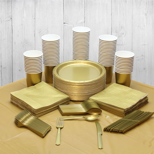 Gold 98 Person Party Pack Product Image