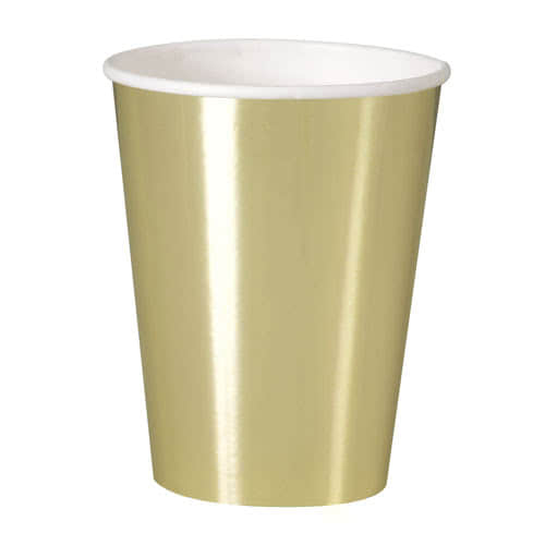 Gold Foil Paper Cup 355ml