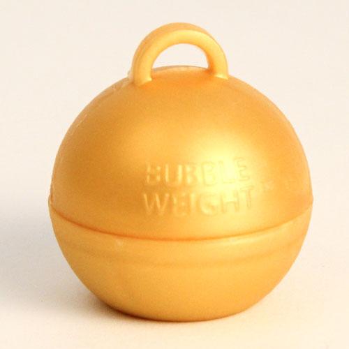 Gold Metallic Finish Bubble Balloon Weight 35g Product Image