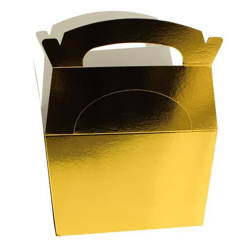 Gold Metallic Party Box - Single Product Image