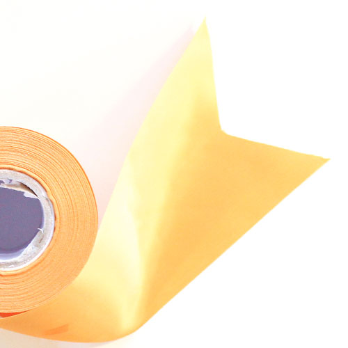 Gold Satin Faced Ribbon Reel 100mm x 25m Product Image