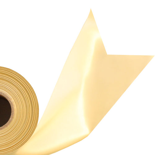 Gold Satin Faced Ribbon Reel 100mm x 50m Product Image
