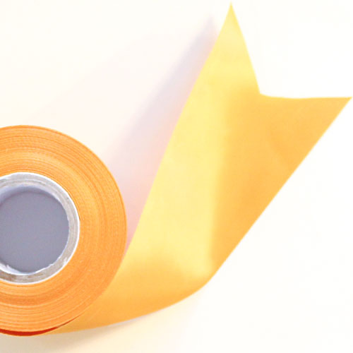 Gold Satin Faced Ribbon Reel 70mm x 25m Product Image