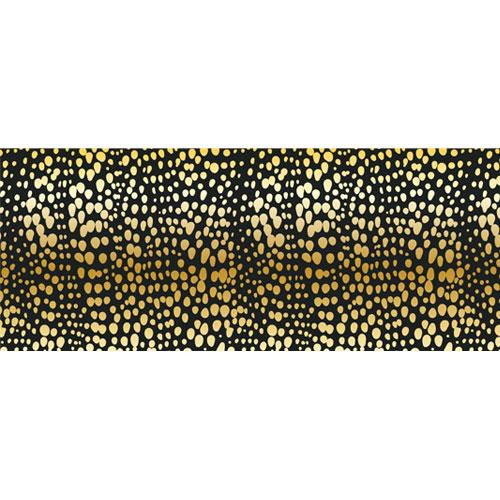 Gold Spot Animal Print PVC Party Sign Decoration 60cm x 25cm Product Image