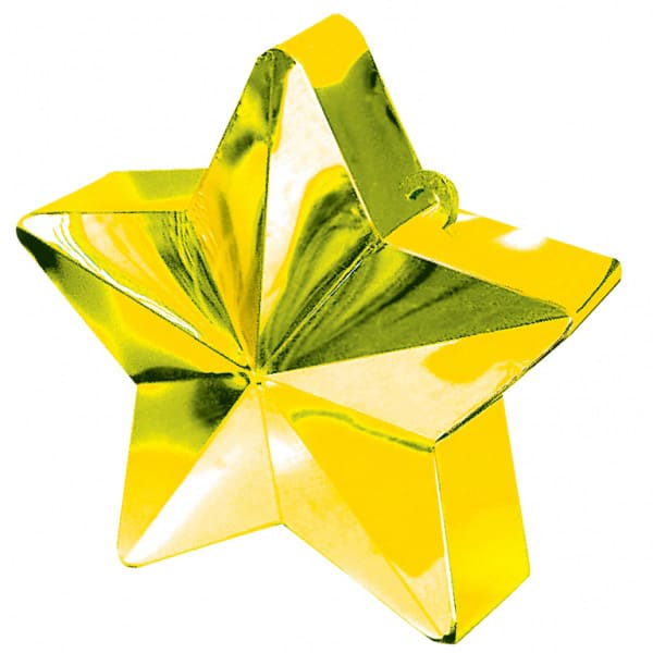 Gold Star Balloon Weight Product Image