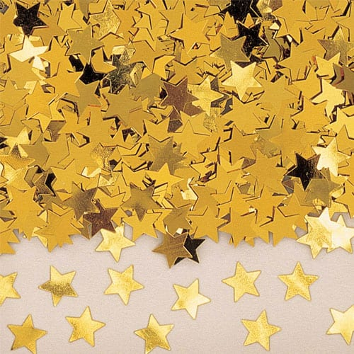 Gold Stars Table Confetti - 14 Grams Product Image