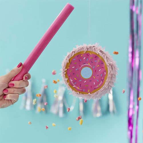 Good Vibes Mini Donut Shaped Pinata 12cm