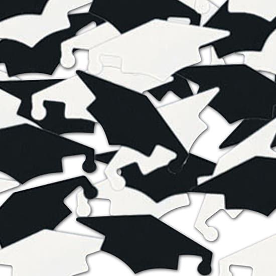Graduation Caps Table Confetti - 28 Grams