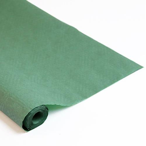 Green Paper Banquet Roll - 8m x 1.2m