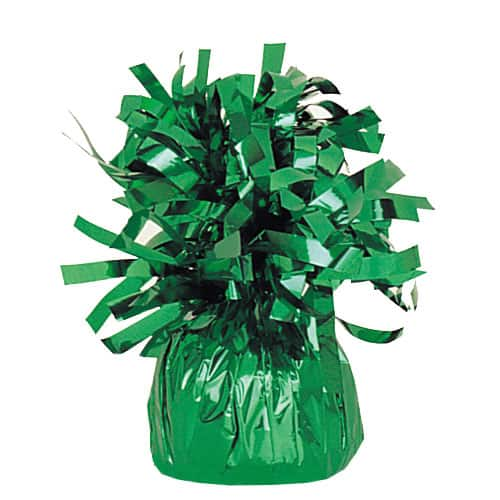 Emerald Green Foil Balloon Weight Product Image