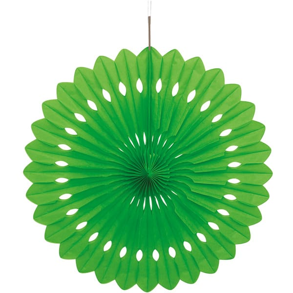 Green Hanging Decorative Honeycomb Fan 40cm Product Image