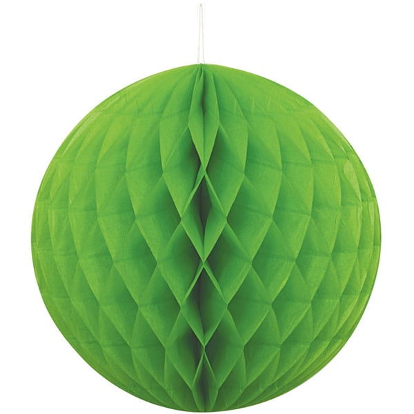 Green Honeycomb Hanging Decoration Ball 20cm Product Image