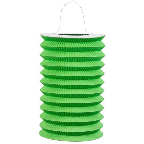 Green Paper Lantern 15cm Product Image