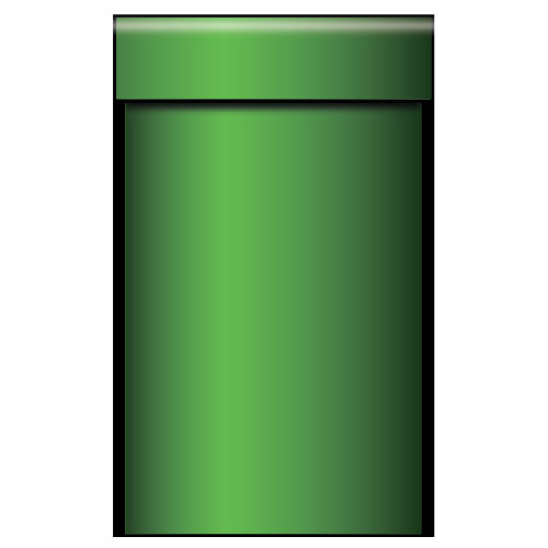 Green Pipe Medium PVC Party Sign Decoration 97cm x 60cm Product Image