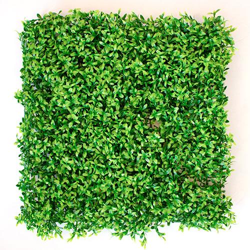 Green Plant Flower Wall Panel 50cm x 50cm