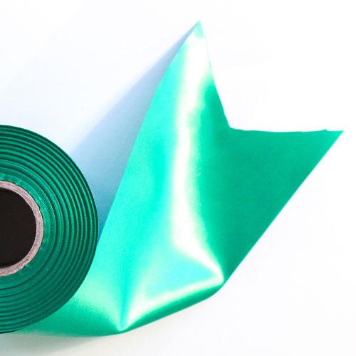 Green Satin Faced Ribbon Reel 100mm x 50m