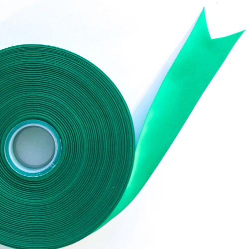 Green Satin Faced Ribbon Reel 38mm x 91m Product Image