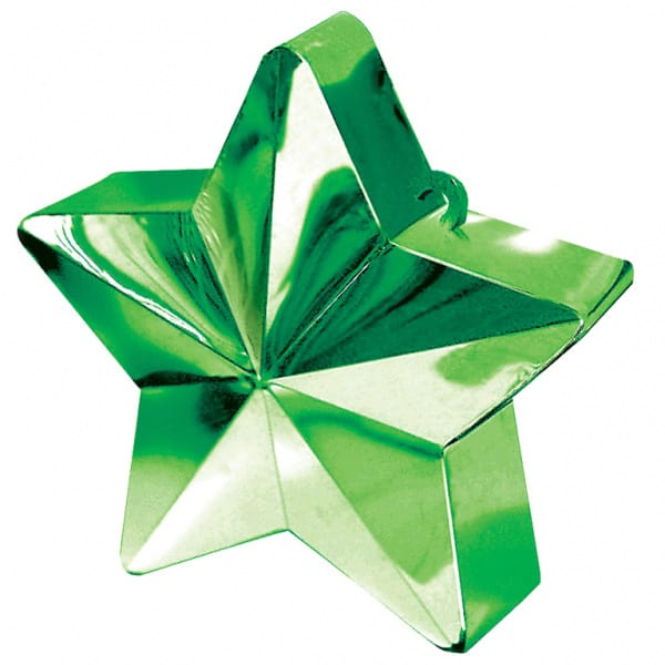 Green Star Balloon Weight Product Image
