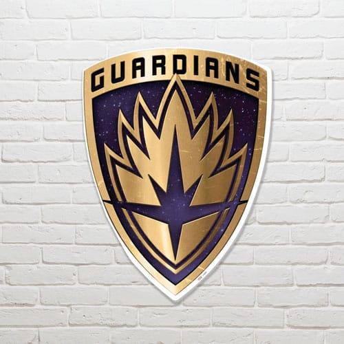 Guardians of the Galaxy Emblem Wall Art 83 x 62cm