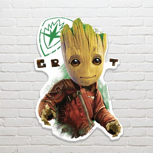 Guardians of the Galaxy Groot Wall Art 82 x 58cm
